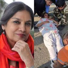 FIR registered against Shabana's Driver for Reckless Driving