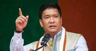Arunachal CM treks 24 kms for 11 hours to meet residents of remote village
