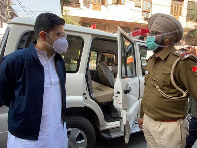 Atishi, Raghav Chadha, other AAP leaders detained ahead of protest outside Amit Shah, LG's homes