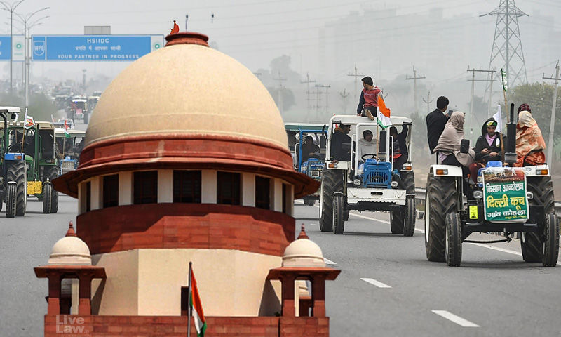 SC to hear plea of Delhi police to stay tractor rally by farmers on Republic-Day