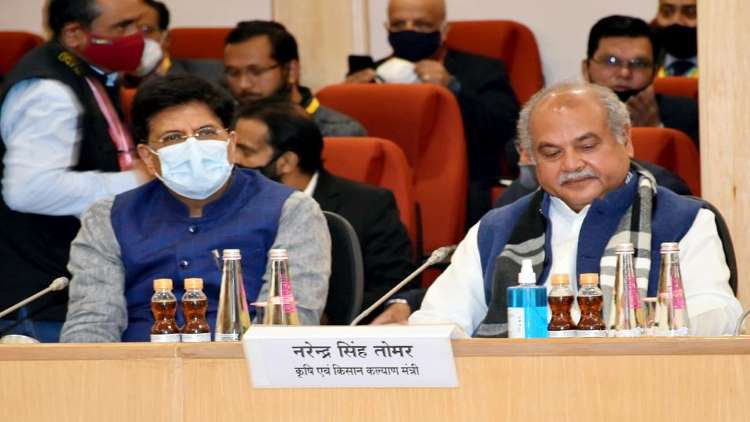 10th round of talks between farmers-Centre ends, next meeting on Jan 22