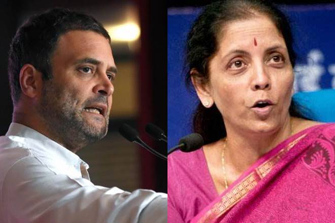 Finance Minster poses 10 questions for Rahul Gandhi speech on farmer`s protest