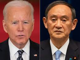 First Foreign leader to visit under Biden administration: Japanese PM Suga