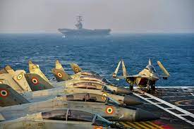 Quad navies join France-led drills in Indian Ocean